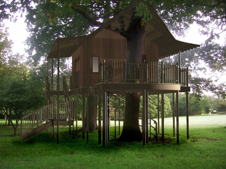 Tree house ideas tree house plans build a tree house for Treeless treehouse