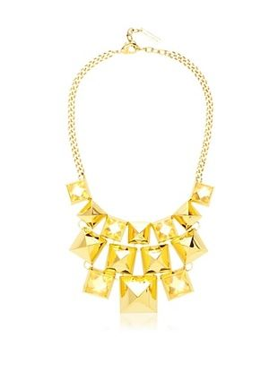 70% OFF Vince Camuto Stone Pyramid Bib Necklace