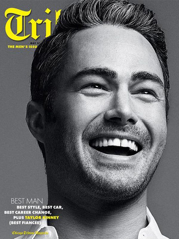 Taylor Kinney Poses For 'Trib' Magazine