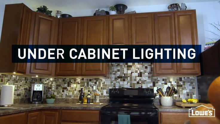 Under cabinet lighting is a great kitchen accent. Watch how to install under cabinet lighting yourself with this video. Click for detailed project instructio...