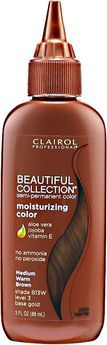 Clairol Beautiful Collection Semi-Permanent Hair Color 13W Medium Warm Brown