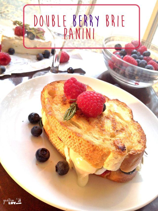Double Berry Brie Panini
