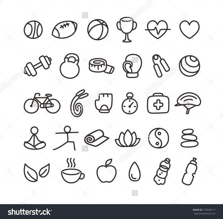 https://www.google.no/search?q=workout symbol doodle
