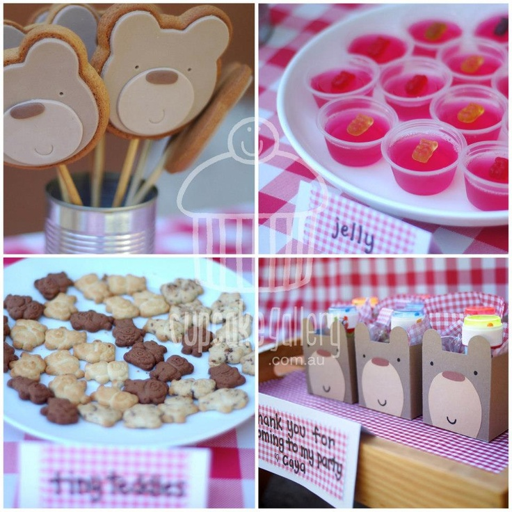 Party Jelly Ideas: 213 Best Images About Teddy Bear Party On Pinterest
