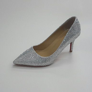 Mujer-Tacón Stiletto-Zapatos del club-Zapatos de boda-Boda Vestido Fiesta y Noche-Purpurina- 5815246 2017 – $116.994
