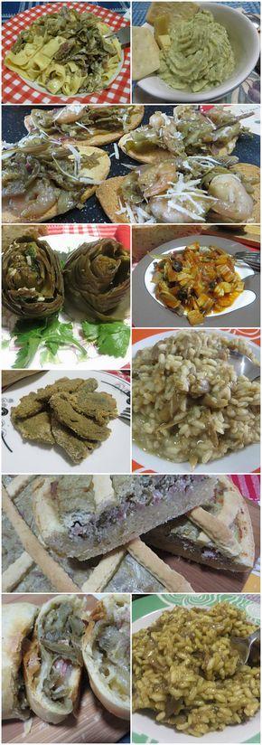Raccolta di ricette con i carciofi ! #ricette #carciofi #carciofisfiziosi #ricettegustose