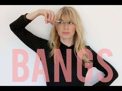 How to cut your bangs at home, because sometimes it has to happen