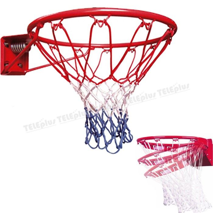 Avessa Yaylı Basketbol Çemberi - 45 cm Nizami Ölçüde Çember + Basketbol Fİlesi Set  18x18 cm  Tek Katlı Yaylı İçi Dolu - Price : TL112.00. Buy now at http://www.teleplus.com.tr/index.php/avessa-yayli-basketbol-cemberi.html