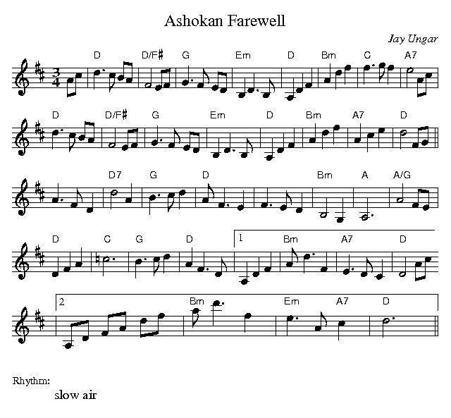 Ashokan Farewell Sheet Music Violin Download: Ashokan Farewell Fiddle Sheet Music Mn0054229gif With Mn0054229,