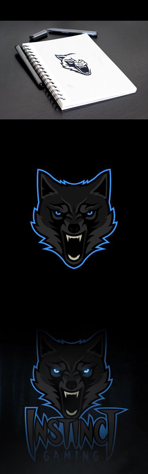 Wolf Mascot on Behance