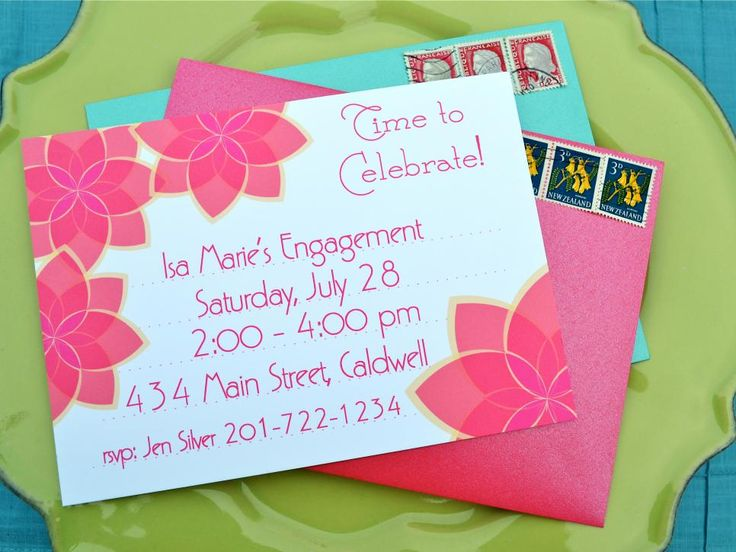 14 best DIY Party Invitations images on Pinterest