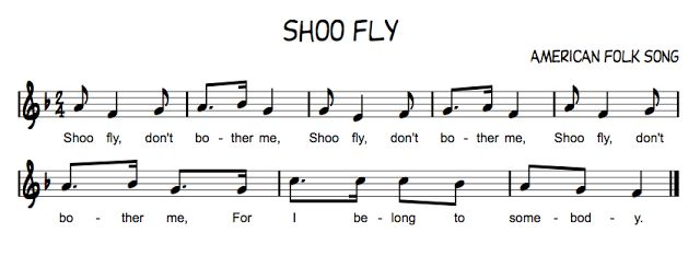 Shoo Fly Pair with Skip To My Lou / Bow Belinda / Sandy Land / Shoo Fly / Rock a My Soul / This Train / Old Brass Wagon Beth's Music Notes: Partner Songs & Countermelodies