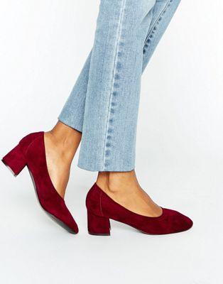 Daisy Street - Chaussures à talons mi-hauts - Bordeaux