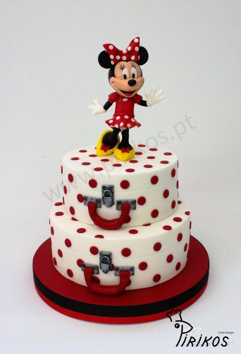 Minnie 50's Cake - by Pirikos, Cake Design @ CakesDecor.com - cake decorating website