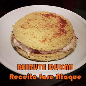 Na fase ataque da Dieta Dukan é possível provar algumas delícias do nosso dia a dia realizando apenas algumas simples alterações, como é o caso do Beirute Dukan, ou o nosso famoso Pão com Ovo