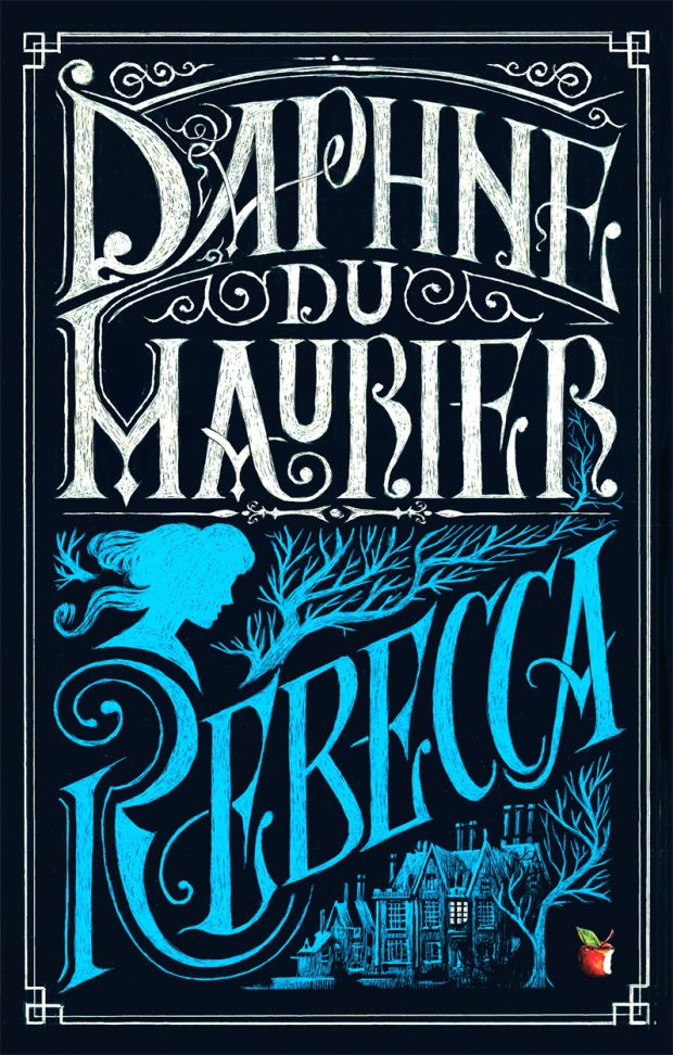 Really good book. 'Rebecca' by Daphne Du Maurier. Cover Design- Iacopo Bruno.