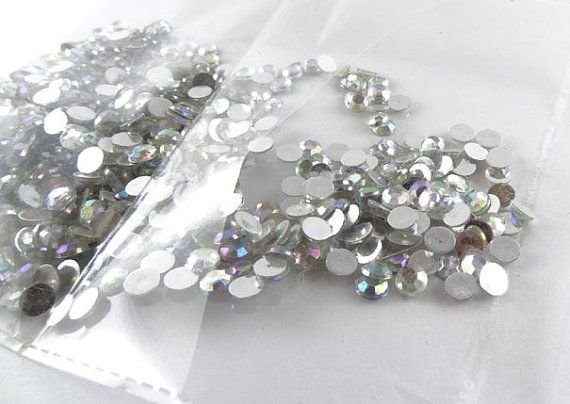 Rhinestones  flat back beads  reflect-ant by IndianCraftsBazaar
