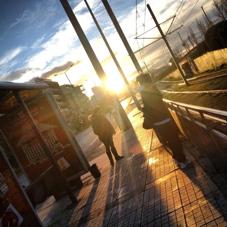 Sunrise 'n' off we go