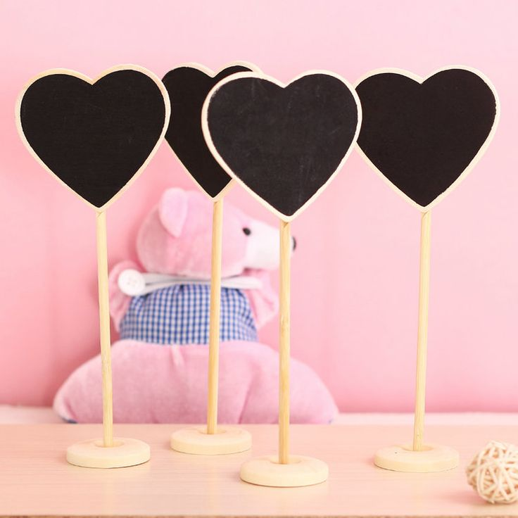 Cheap board panel, Buy Quality board particle directly from China decorative skirting board Suppliers: Heart-shaped Mini Board 10 x boards on a stick stand holder-brand new site  wedding decoration free shippingitem: m