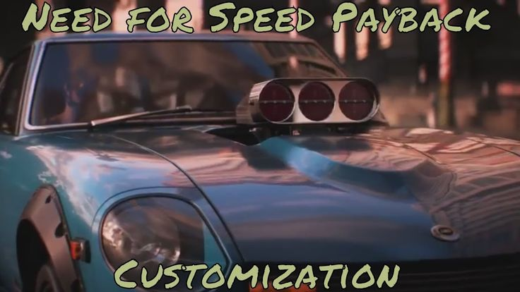 Need For Speed Payback   Customization Trailer  PS4