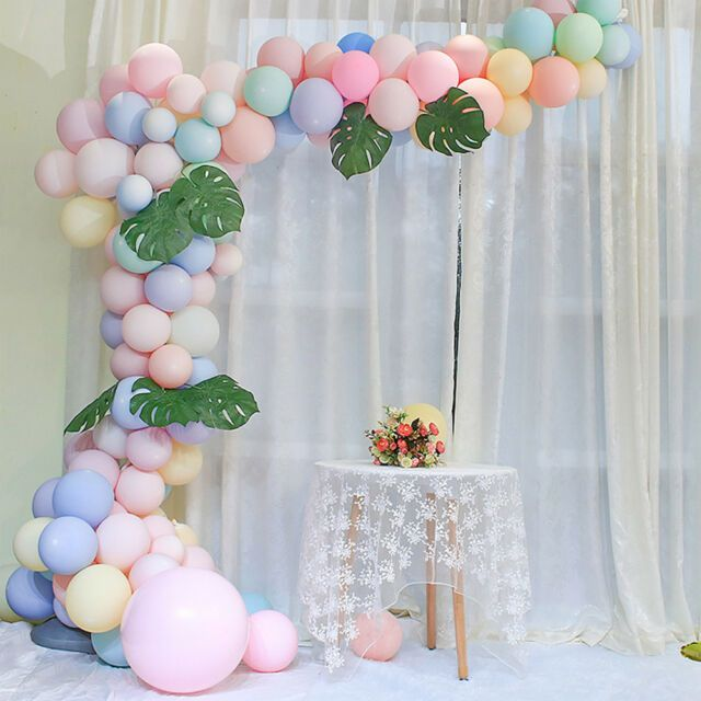 5m Wedding Birthday Party Wall Decor Balloon Chain Tape Arch Connect Strip DIY | eBay