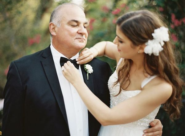 A Father's Day special, we celebrate Dad's role in your wedding with gorgeous photographs of the father of the bride (or groom)   Bridal Musings