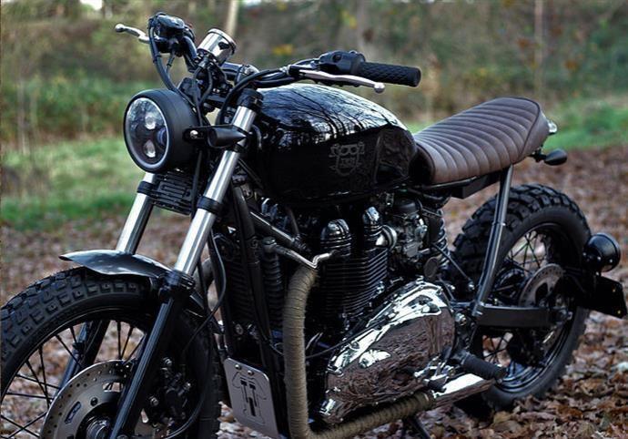 Custom Triumph Bonneville T100 Scrambler Custom Motorcycles For