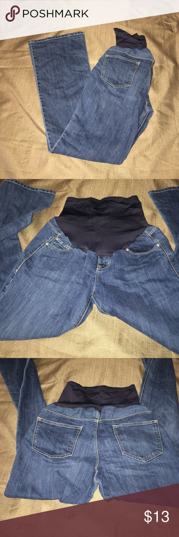 Old navy Maternity Jeans Old Navy Maternity Jeans in very very GUC - size: 6 Regular Old Navy Jeans Flare & Wide Leg