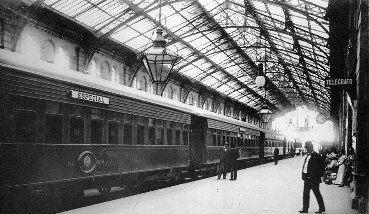 Estación antigua de Argentina, entre el año 1890 y 1965