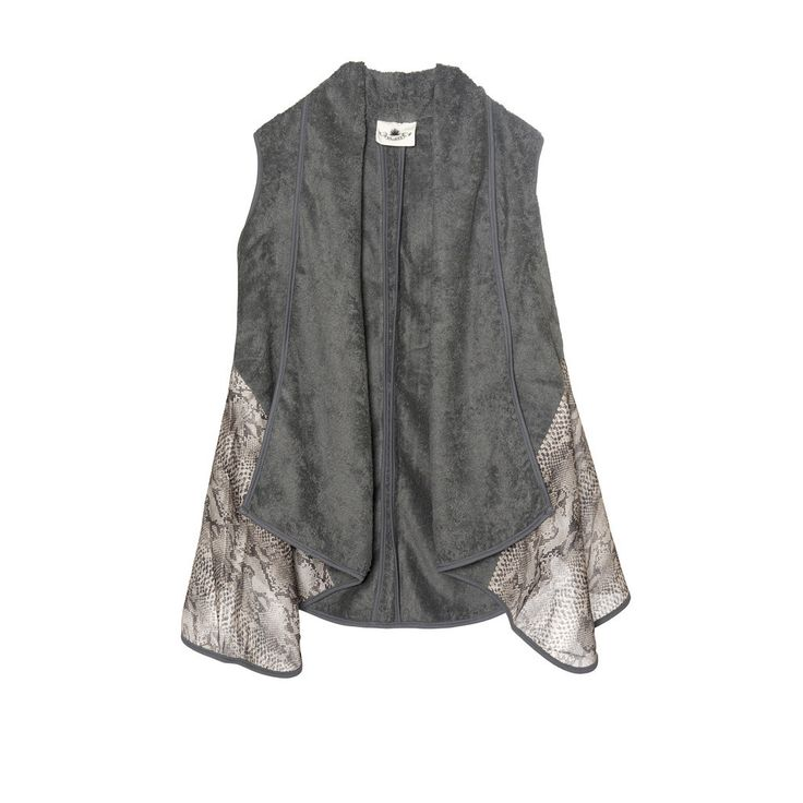 "The ""Venom"" Vest is the perfect garment for an effortless chic look!"