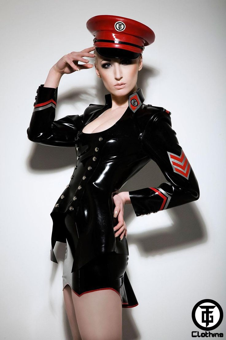 Military style fetish tops certainly right