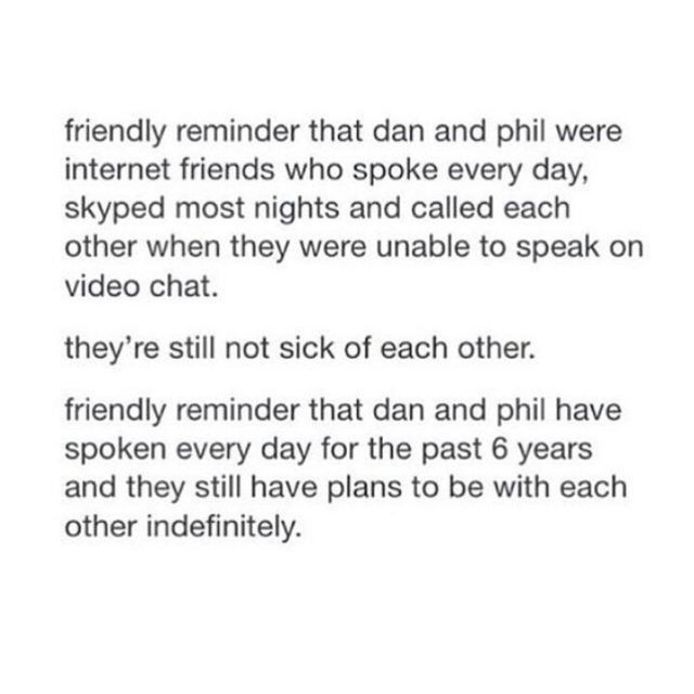 finally a friendly reminder that was friendly!,<<I want what they have. They love each other unconditionally even if it is platonic they'll be with each other till the end even if people say they're secretly gay and all that bulshit they are always with each other no matter what through the thick and thin