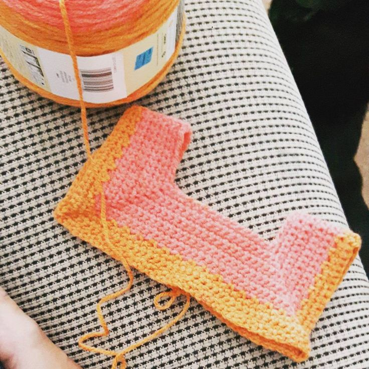 This little lovely is going to need some blocking when it's done. It's so teeny! Crocheting with a 4mm Susan Bates hook and a Caron cake in Spice Cake. It's what I think a pumpkin spice Latte would look like