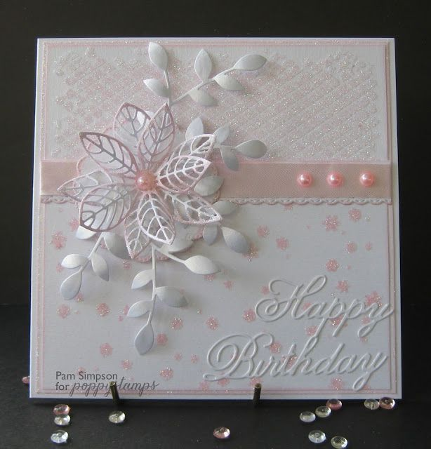Good morning everyone. Sharing my post from Poppystamps Blog today ..http://poppystamps.typepad.com/ I have done a photo tutorial on how I did this background on my card.. Really easy and I love the