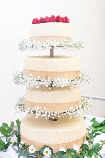 wedding rustic cake