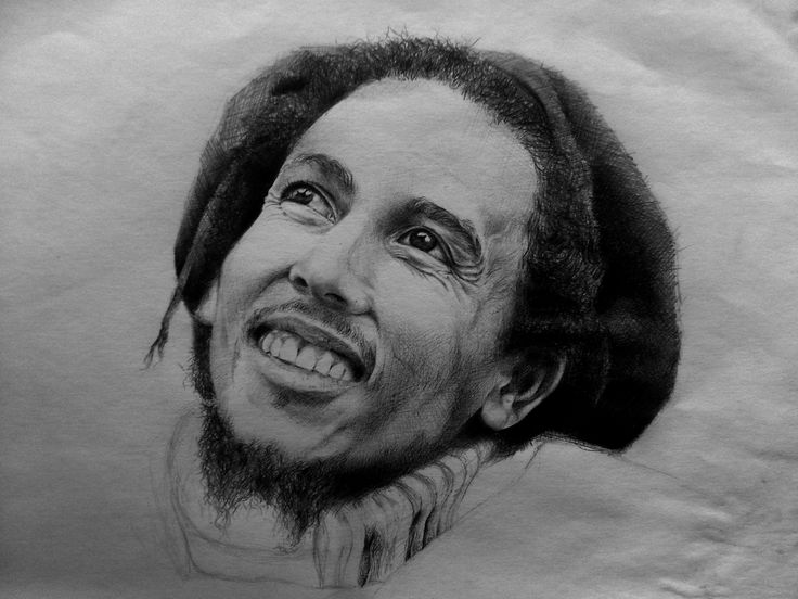 Bob Marley, by Spizou __Hamza Moussa