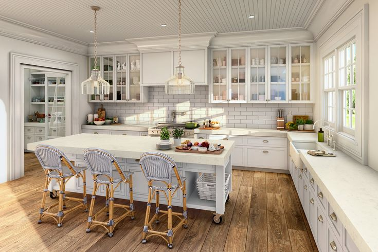 My dream kitchen layout as designed by Laminex.