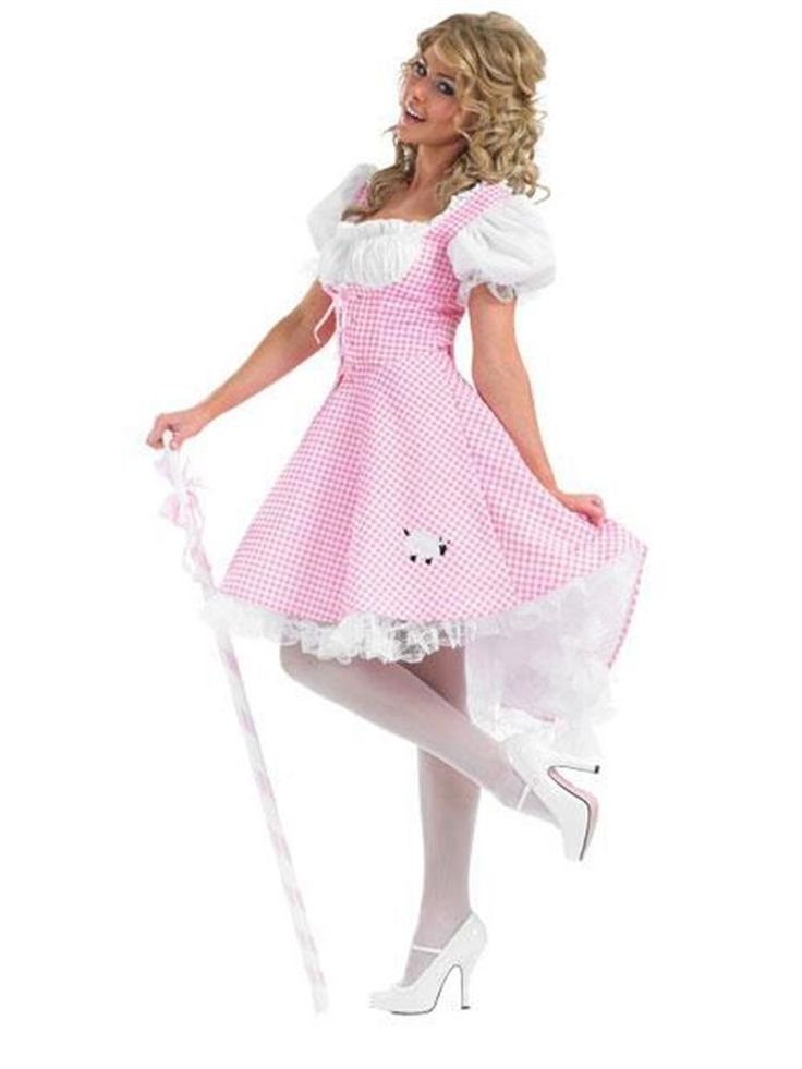 Bo Peep Long Length - Adult Costume
