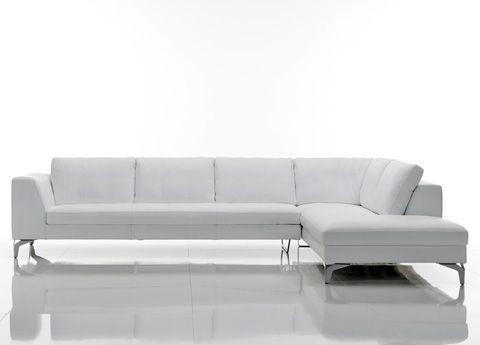 Cierre Glamour Leather Corner Sofa - hand stitched, beautiful leather, filled with the softest of goose feathers.  Gorgeous!