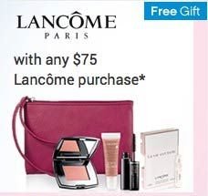 New GWP at Belk and Bon-Ton. http://cliniquebonus.org/lancome-gift-with-purchase/