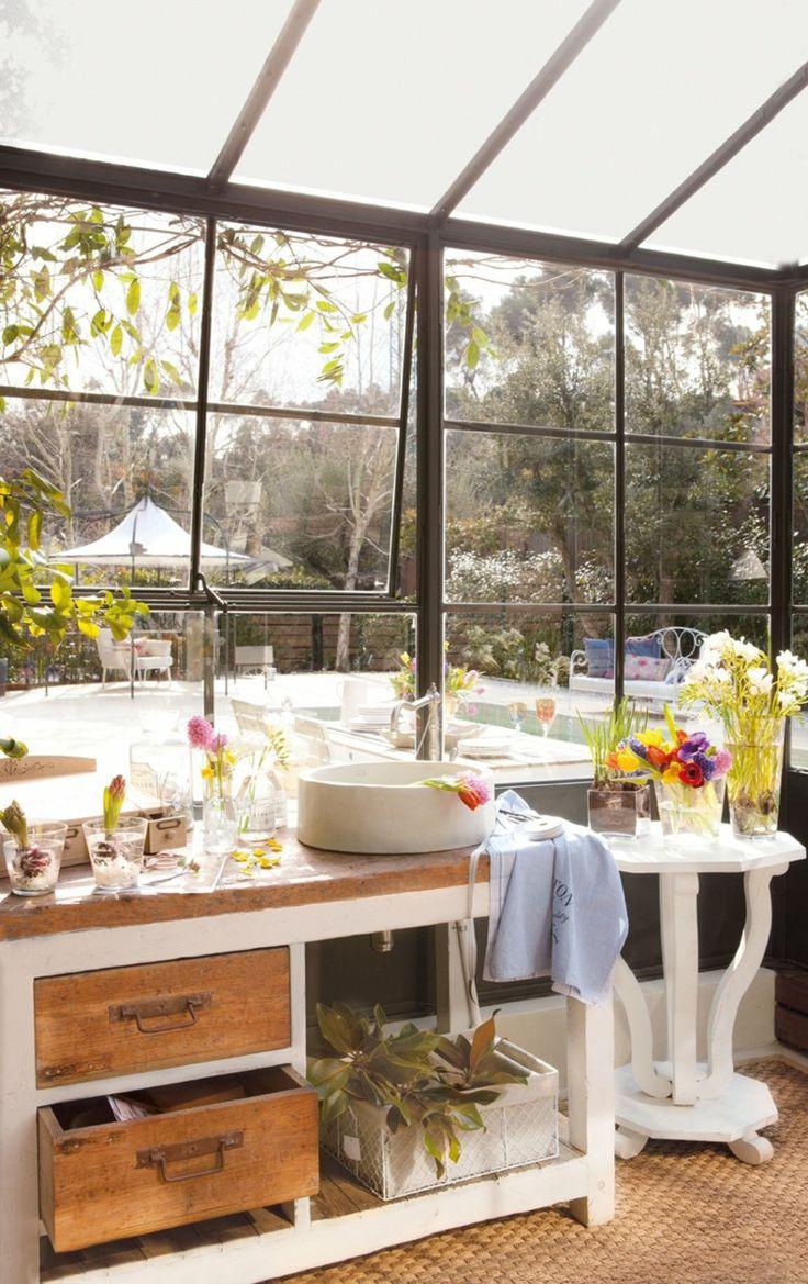 25 idées bon marché d'aménagement de jardin d'hiver
