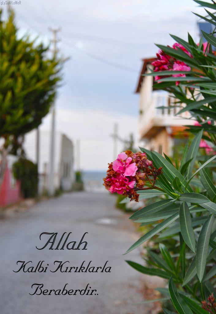Allah kalbi kırıklarla beraberdir. #tasavvuf