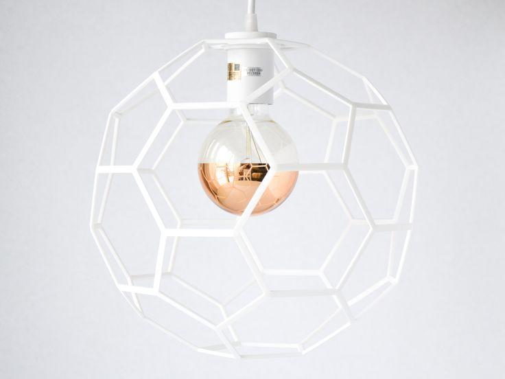 Agon Pendant Light designed by modern lighting studio DeVignCo.
