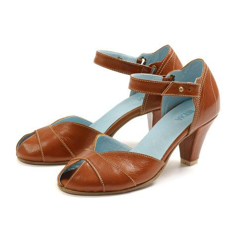 Leather camel sandals High heels sandals by MYKAshop on Etsy, $225.00