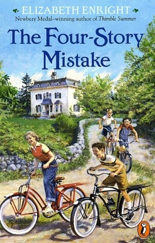 The Four-Story Mistake is the second in a series about the Melendy family's adventures, with illustrations by the author. I highly recommend this book.