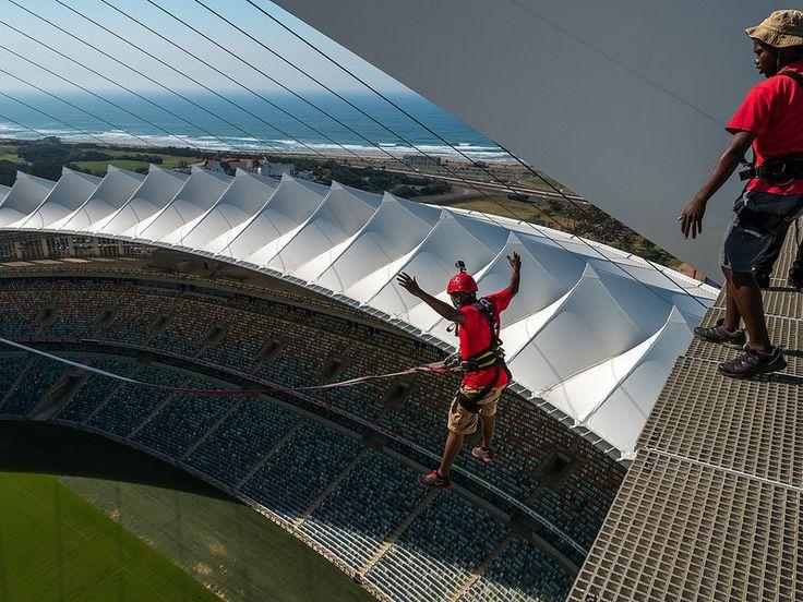 Moses Mabhida Stadium, Durban, KwaZulu-Natal, South Africa | by South African Tourism