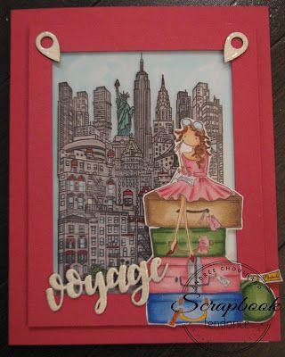 Scrapbook Tendance: Bon voyage!