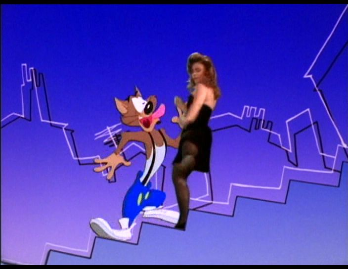 Paula Abdul Cartoon Cat Video