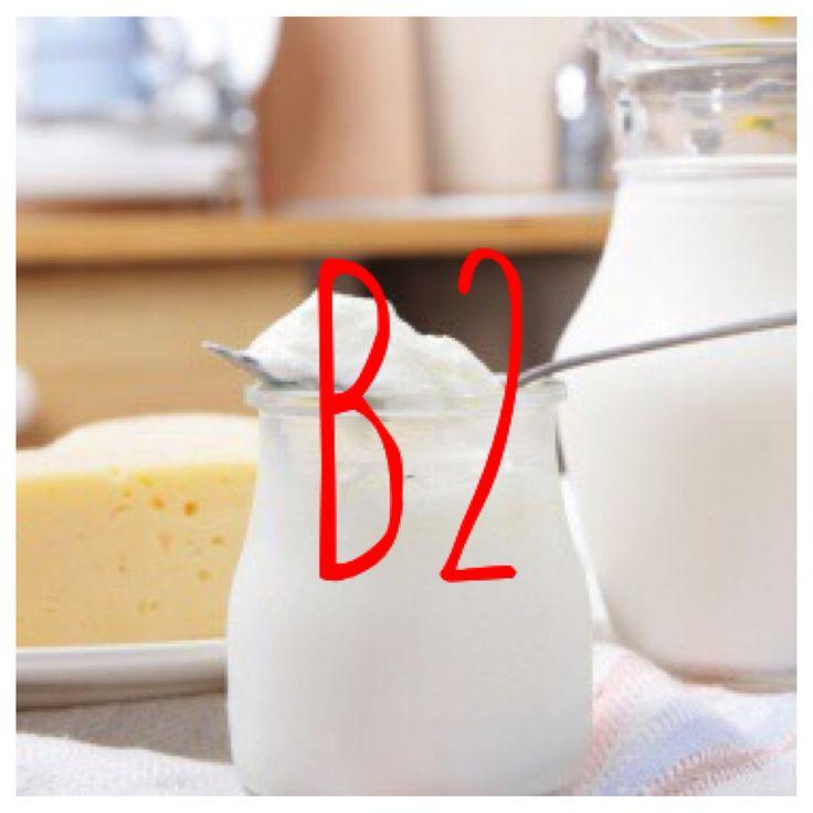 Vitamina B2 ou Riboflavina  Auxilia no aproveitamento energético da alimentação, na formação das células vermelhas do sangue e na boa estrutura da membrana mucosa da superfície da língua, da boca, dos olhos e do intestino.  A Vitamina B2 contribui para o transporte e metabolismo do Ferro no organismo.  As principais fontes de vitamina B2 são carnes, leites e seus derivados, ovos, legumes, verduras, especialmente o brócolis, cereais integrais, leguminosas, como ervilhas, algumas…