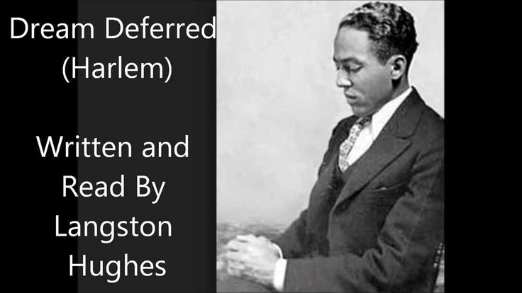 langston hughes dream deferred essay An analysis of imagery in harlem by langston hughes  more essays like this: langston hughes, harlem, analysis of imagery  most helpful essay resource ever.